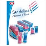 candeline rosa azzurre